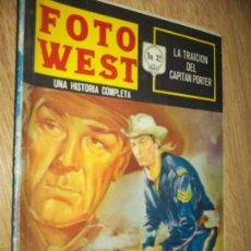Tebeos: FOTO WEST N.32 -EL TRAIDOR FOSTER-,EDITORMEX, 1964 64 PAG. FHOTONOVEL-RHANDOLP SCOTT. Lote 90364180