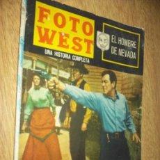 Tebeos: FOTO WEST N.27-EL HOMBRE,EDITORMEX, 1964 64 PAG. FHOTONOVEL. Lote 90366372