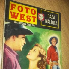 Tebeos: FOTO WEST N.24 -RAZA MALDITA-,EDITORMEX, 1964 64 PAG. FHOTONOVEL. Lote 90368128