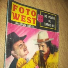 Tebeos: FOTO WEST N.20 -LAS HAZAÑAS DE BUFALO BILL--,EDITORMEX, 1964 64 PAG. FHOTONOVEL. Lote 90369016