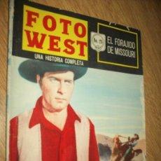 Tebeos: FOTO WEST N.28-EL FORJADO DEL MISOURI-,EDITORMEX, 1964 28 PAG. FHOTONOVEL. Lote 90369660