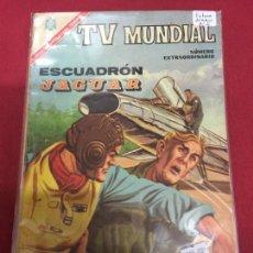 Tebeos: TV MUNDIAL NUMERO EXTRAORDINARIO ESCUADRON JAGUAR NORMAL ESTADO - REF.6. Lote 90597080