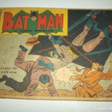 Tebeos: BATMAN N.40 1957 MUCHNIK ARG. BY NEGRO, HISTORIAS COMPLETAS TIRAS.. Lote 90639880
