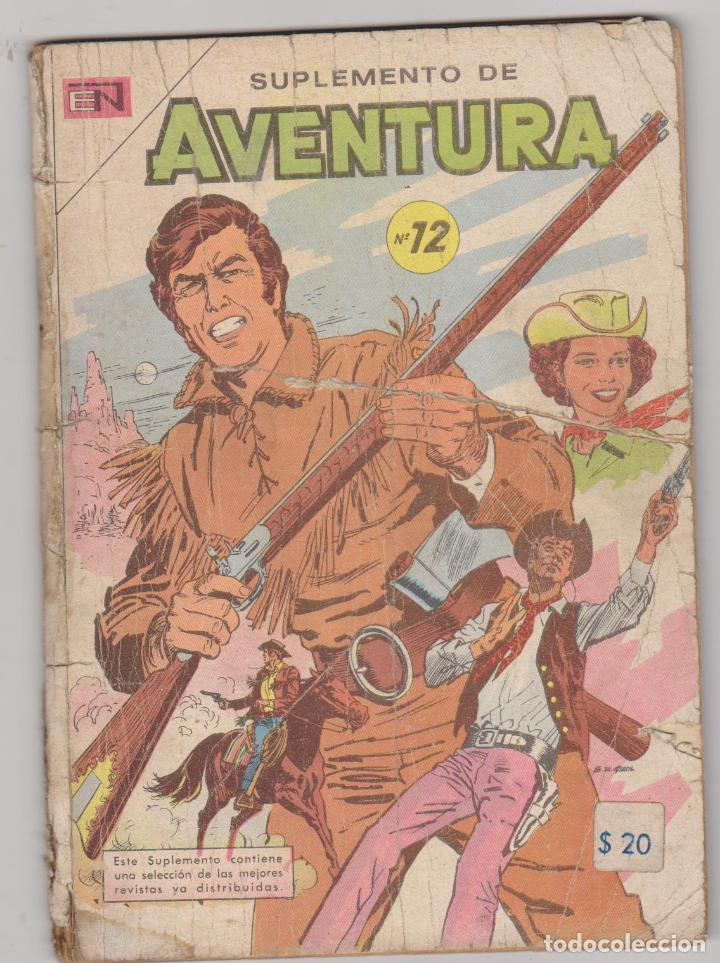 SUPLEMENTO DE AVENTURA Nº 12. NOVARO 1958 - 1971. CONTIENE LOS EJEMPLARES 691,692 Y 716, MUY RARO.. (Tebeos y Comics - Novaro - Aventura)