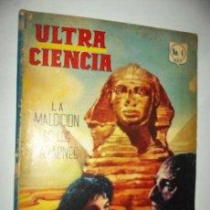 Tebeos: ULTRA-CIENCIA N.4 -LA MOMIA- HAMMER-CRISTOFER LEE-FILM CC.FF. B MEXICO 1964 FILM CC.FF. CINR. Lote 91591755