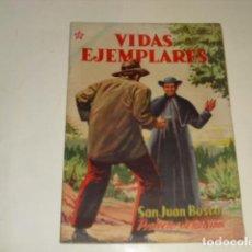 Tebeos: VIDAS EJEMPLARES - SAN JUAN BOSCO - Nº 20 - 1 DICIEMBRE 1955 -. Lote 91601990