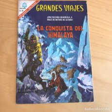 Tebeos: GRANDES VIAJES. LA CONQUISTA DEL HIMALAYA . REVISTA JUVENIL. Lote 91722790