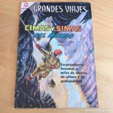 Tebeos: GRANDES VIAJES CIMAS Y SIMAS DEL MUNDO Nº 31 . EDITORIAL NOVARO. Lote 91725560