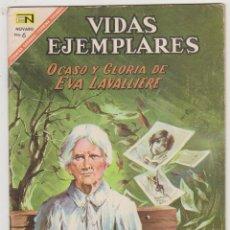 Tebeos: VIDAS EJEMPLARES Nº 252. NOVARO 1967.. Lote 92097305