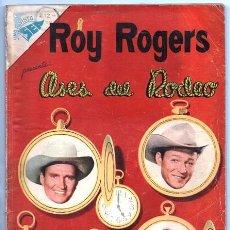 Tebeos: ROY ROGERS EXTRAORDINARIO NOVARO 1956 FAMOSAS BATALLAS INDIAS REX ALLEN GENE AUTRY BILL ELLIOT 96 PA. Lote 92237580