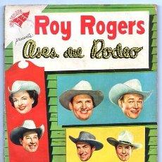 Tebeos: ROY ROGERS EXTRAORDINARIO NOVARO 1957 CALENDARIO PIEL ROJA DORA EVANS GENE AUTRY BILL ELLIOT 96 PAG. Lote 92237615