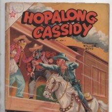 Tebeos: HOPALONG CASSIDY # 8 NOVARO 1955 WILLIAM BOYD CLARENCE MULFORD INTERIOR EXCELENTE VER DETALLES. Lote 92264730