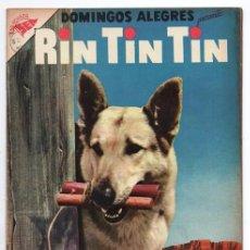 Tebeos: DOMINGOS ALEGRES # 135 RIN TIN TIN NOVARO 1956 EL ENEMIGO DEL FUEGO PABLO BANDA EXCELENTE ESTADO. Lote 92281380