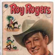 Tebeos: ROY ROGERS # 9 NOVARO EMSA 1953 TRAS EL RASTRO DEL TIGRE CUENTOS DEL AMIGO CARLOS 32 PAG BUEN ESTADO. Lote 92311265