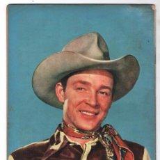 Tebeos: ROY ROGERS # 24 NOVARO 1954 LA ESTAMPIDA MORTAL CUENTOS DEL AMIGO CARLOS 32 PAG BUEN ESTADO. Lote 92570145
