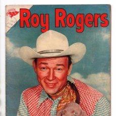 Tebeos: ROY ROGERS # 41 NOVARO 1956 BUSQUEDA EN RIO ANCHO CUENTOS DEL AMIGO CARLOS 32 PAG BUEN ESTADO. Lote 92588835