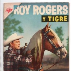 Tebeos: ROY ROGERS # 57 NOVARO 1957 EL BARRANCO DEL JABALI APACHITO BUFALO 32 PAG BUEN ESTADO. Lote 92724105