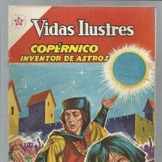 Tebeos: VIDAS ILUSTRES 74: COPÉRNICO, INVENTOR DE ASTROS. 1962, NOVARO, MUY BUEN ESTADO. . Lote 93070915
