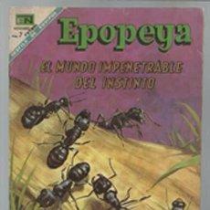 Tebeos: EPOPEYA 124: EL MUNDO IMPENETRABLE DEL INSTINTO, 1968, NOVARO, BUEN ESTADO. Lote 93072555