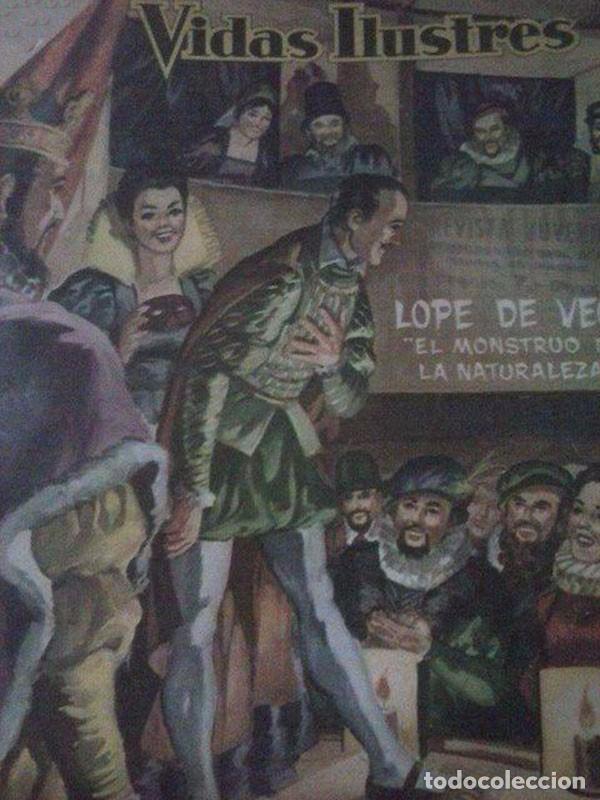 Tebeos: 16 REVISTAS *VIDAS ILUSTRES* EN UN TOMO - Foto 2 - 93163625