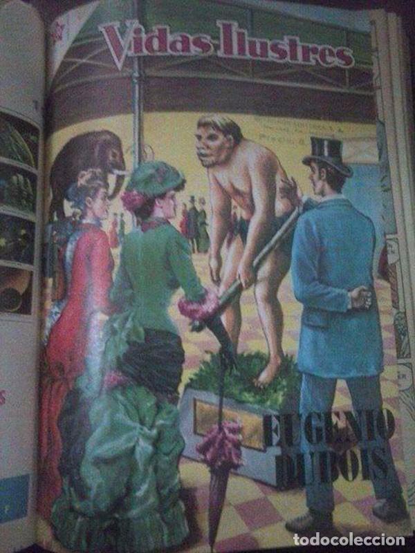 Tebeos: 16 REVISTAS *VIDAS ILUSTRES* EN UN TOMO - Foto 3 - 93163625