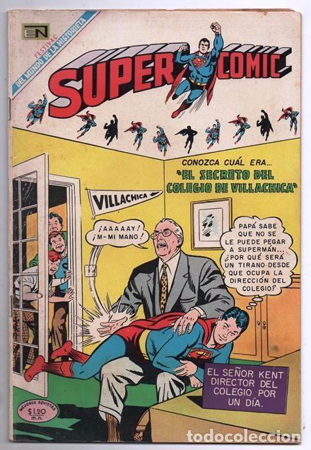 SUPERCOMIC # 26 NOVARO 1969 EL MISTERIO DE LOS TROFEOS DEL ESPACIO MUY BUEN ESTADO (Tebeos y Comics - Novaro - Superman)