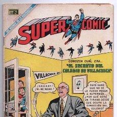 Tebeos: SUPERCOMIC # 26 NOVARO 1969 EL MISTERIO DE LOS TROFEOS DEL ESPACIO MUY BUEN ESTADO. Lote 93307485