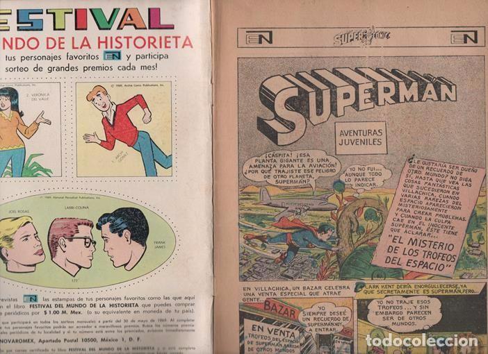 Tebeos: SUPERCOMIC # 26 NOVARO 1969 EL MISTERIO DE LOS TROFEOS DEL ESPACIO MUY BUEN ESTADO - Foto 2 - 93307485
