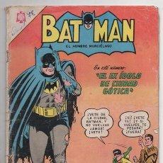Tebeos: BATMAN # 260 NOVARO 1965 EL EX IDOLO DE CIUDAD GOTICA EL HOMBRE ELASTICO BUEN ESTADO CON DETALLES. Lote 93308870