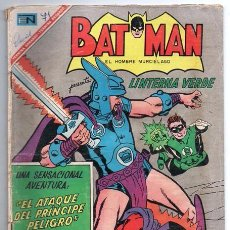 Tebeos: BATMAN # 374 LINTERNA VERDE NOVARO 1967 EL ATAQUE DEL PRINCIPE PELIGRO BUEN ESTADO. Lote 93314555