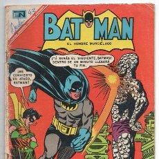 Tebeos: BATMAN # 376 EL HOMBRE ELASTICO 1967 EL FIN DEL FORASTERO LOS ROSTROS DE CERA BUEN ESTADO. Lote 93352810