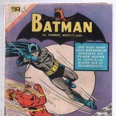 Tebeos: BATMAN # 382 FLASH NOVARO 1967 BRAVE AND THE BOLD # 67 LA MUERTE DE FLASH BUEN ESTADO. Lote 93354760