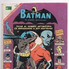 Tebeos: BATMAN # 383 CAMPEONES DE LA JUSTICIA NOVARO 1967 PUENTE ENTRE TIERRA 1 Y TIERRA 2 ATOM FLASH HALCON. Lote 93408250