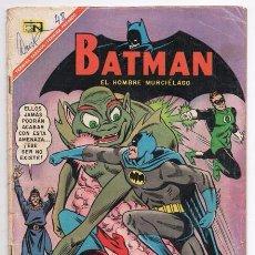 Tebeos: BATMAN # 390 CAMPEONES DE LA JUSTICIA NOVARO 1967 GARDNER FOX MIKE SEKOWSKY SID GREENE BUEN ESTADO. Lote 93412055