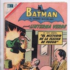 Tebeos: BATMAN # 402 ORIGEN DE LINTERNA VERDE NOVARO 1967 AMENAZA DEL PROYECTIL DESVIADO GREEN LANTERN # 22. Lote 93412880