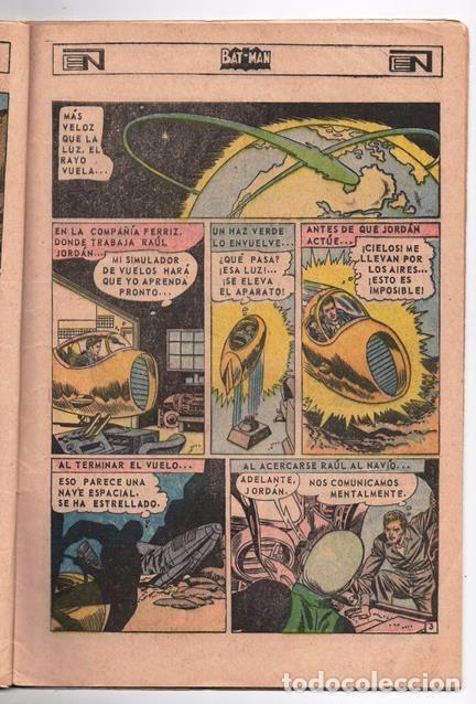 Tebeos: BATMAN # 402 ORIGEN DE LINTERNA VERDE NOVARO 1967 AMENAZA DEL PROYECTIL DESVIADO GREEN LANTERN # 22 - Foto 3 - 93412880