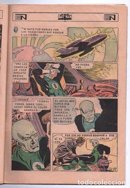Tebeos: BATMAN # 402 ORIGEN DE LINTERNA VERDE NOVARO 1967 AMENAZA DEL PROYECTIL DESVIADO GREEN LANTERN # 22 - Foto 4 - 93412880