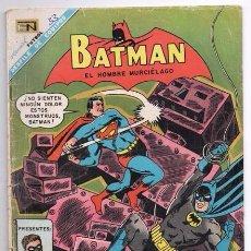 Tebeos: BATMAN # 411 CAMPEONES DE LA JUSTICIA NOVARO 1967 GARDNER FOX MIKE SEKOWSKY & SID GREENE BUEN ESTADO. Lote 93617730
