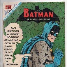 Tebeos: BATMAN # 430 EL HOMBRE ELASTICO NOVARO 1968 GARDNER FOX CARMINE INFANTINO & SID GREENE BUEN ESTADO. Lote 93622010
