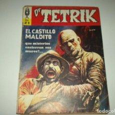 Tebeos: DR. TETRIK N.21 EDIT. MAZONNE-1970 CC.FF. TERROR WARREN- ARGENTINA. Lote 93622880