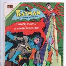 Tebeos: BATMAN # 475 HOMBRE DE PLASTICO NOVARO 1969 NEAL ADAMS THE BRAVE AND THE BOLD # 75 1967 ROBIN HISTOR. Lote 93632505