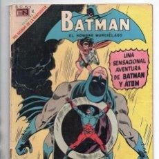 Tebeos: BATMAN # 483 ATOM CAÑONERO NOVARO 1969 THE BRAVE AND THE BOLD # 77 ANDRU ESPOSITO BOB HANEY BUEN EST. Lote 93633830