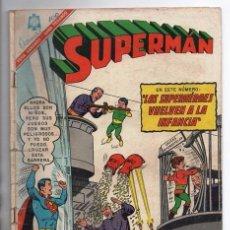 Tebeos: SUPERMAN # 569 LEGION DE SUPERHEROES NOVARO 1966 BRAINIAC CAMALEON ELEMENTO INVISIBLE CENTELLA ASTRO. Lote 93634670