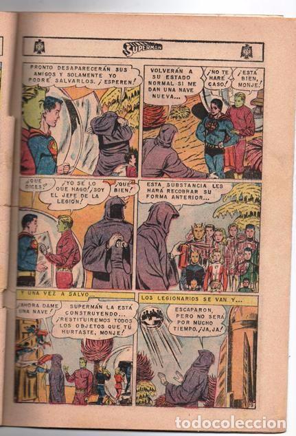 Tebeos: SUPERMAN # 569 LEGION DE SUPERHEROES NOVARO 1966 BRAINIAC CAMALEON ELEMENTO INVISIBLE CENTELLA ASTRO - Foto 3 - 93634670