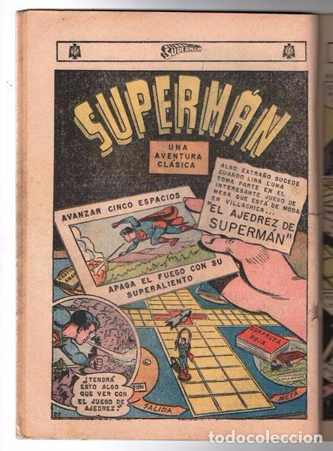 Tebeos: SUPERMAN # 569 LEGION DE SUPERHEROES NOVARO 1966 BRAINIAC CAMALEON ELEMENTO INVISIBLE CENTELLA ASTRO - Foto 4 - 93634670