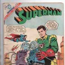 Tebeos: SUPERMAN # 582 LEGION DE SUPERHEROES NOVARO 1966 BRAINIAC CAMALEON CENTELLA COLOSAL RELAMPAGO SOLAR . Lote 93634745