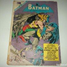 Tebeos: BATMAN N. 415 HOMBRE HALCON NOVARO/DC. Lote 93676880