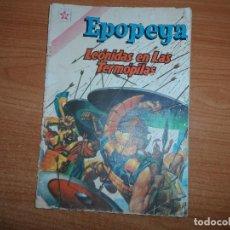 Tebeos: EPOPEYA Nº 42: LEÓNIDAS EN LAS TERMÓPILAS, 1961 EDITORIAL NOVARO. Lote 93708995