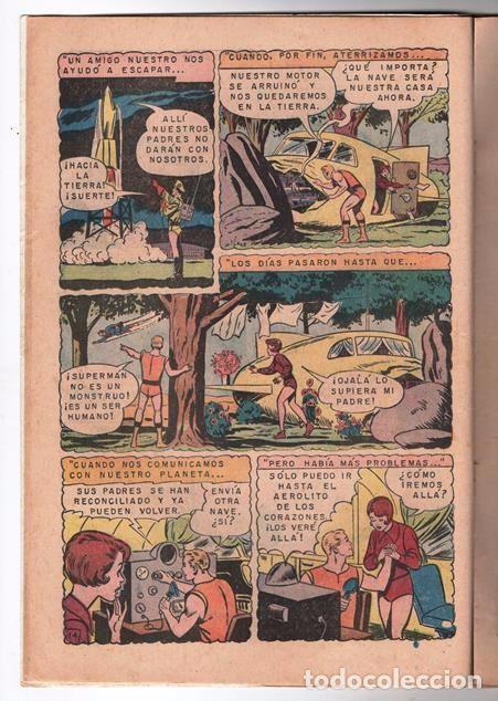 Tebeos: SUPERMAN # 627 NOVARO 1967 LOS JOVENES REBELDES EL ARBOL GENEALOGICO DE KRYPTO BUEN ESTADO - Foto 3 - 93724800