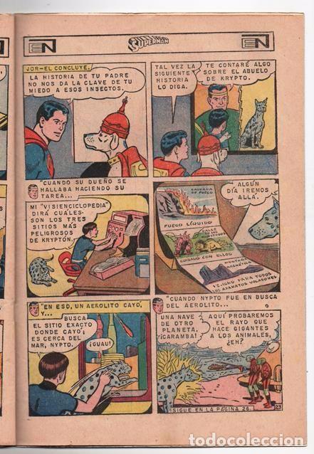 Tebeos: SUPERMAN # 627 NOVARO 1967 LOS JOVENES REBELDES EL ARBOL GENEALOGICO DE KRYPTO BUEN ESTADO - Foto 5 - 93724800